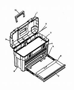 Craftsman 706656281 Tool Chest Parts