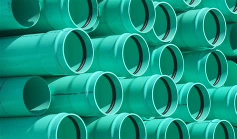 Sewer Sdr35 Green Gasketed Bulk Pipe