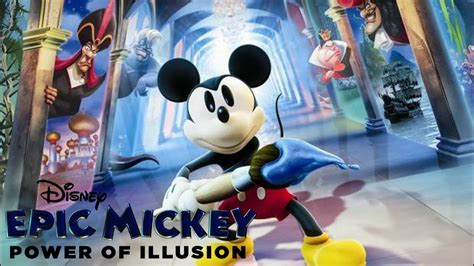 Disney Epic Mickey Power Of Illusion 3ds Review Youtube