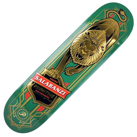 Primitive Skateboard Decks Uk by Primitive Skateboarding Bastien Salabanzi Green
