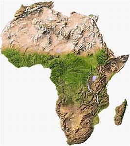 Africa Physical Map - Free Printable Maps