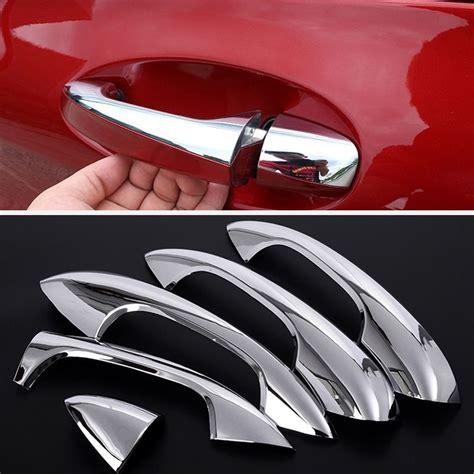 Power door locks w/autolock feature. ABS Chrome trim Door Out Handle Cover Car Accessories For Mercedes Benz C-Class C200 C180 C300 ...