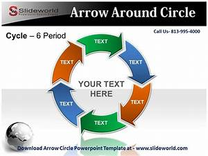 Arrow Circle Powerpoint Template