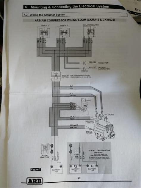 arb compressor wiring tacoma world
