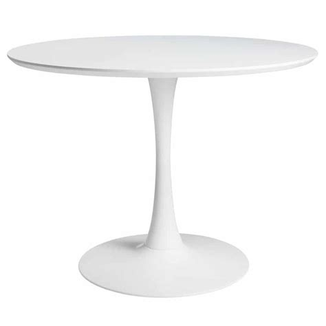 25 beste idee 235 n table ronde blanche op ronde stoel eames dineren en witte