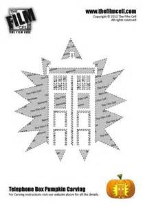 Dr Who Tardis Pumpkin Stencil by Dr Who Tardis Pumpkin Carving Template I Love Halloween