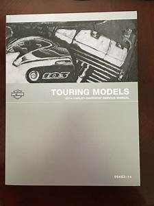 Brand New Service Manual For 2014 Touring Models