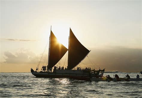corner media center for four years this polynesian canoe will sail around the
