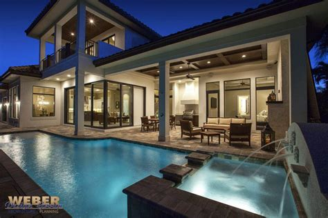 west indies waterfront home design marco island fl