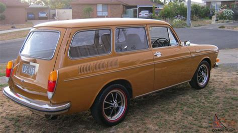 volkswagen squareback vw type3 squareback wagon original unmolested in