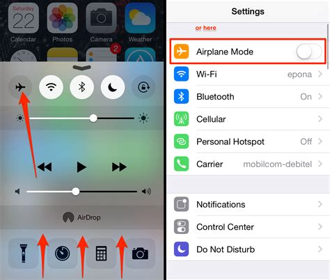 airplane mode iphone imessage not working on ios 10 for iphone 7 and iphone 7