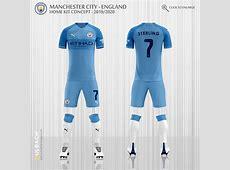 Manchester City 20192020 Puma Kits Concept on Behance