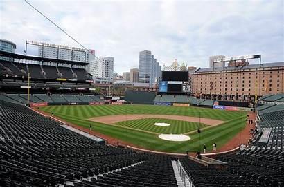 Orioles Empty Baltimore Sox Mlb Park Camden