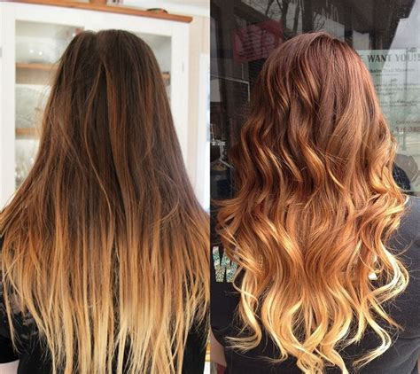 balayage highlights  ombre hair color organic