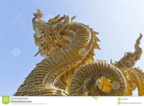 The King Of The Nagas Stock Image