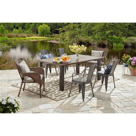 walmart better homes and gardens better homes and gardens camrose farmhouse collection