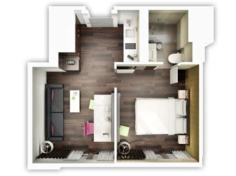 creative one bedroom house plans that promote eco