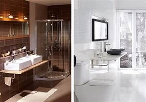 stunning jolie salle de bain moderne contemporary design With salle de bain design avec petite lampe décorative