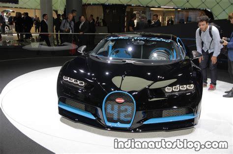 bugatti chiron 0 400 0 400 0 world record bugatti chiron at the iaa 2017