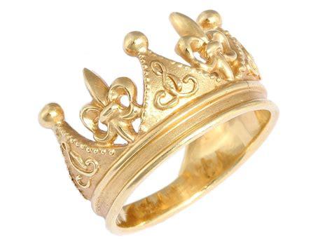 Cynthia Bach 18K Gold Crown Ring