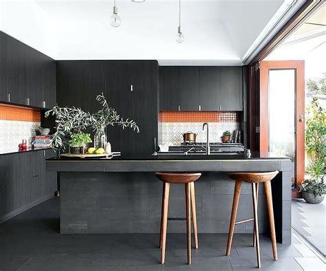 rise  black kitchen cabinets   cabinets