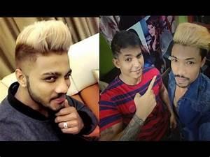 Raftaar Singer & Rapper New Blonde Hairstyle Hair Colour ...