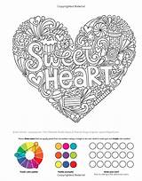 Coloring Doodles Notebook Treats Books Volinski Jess Activity Colouring Sweets sketch template