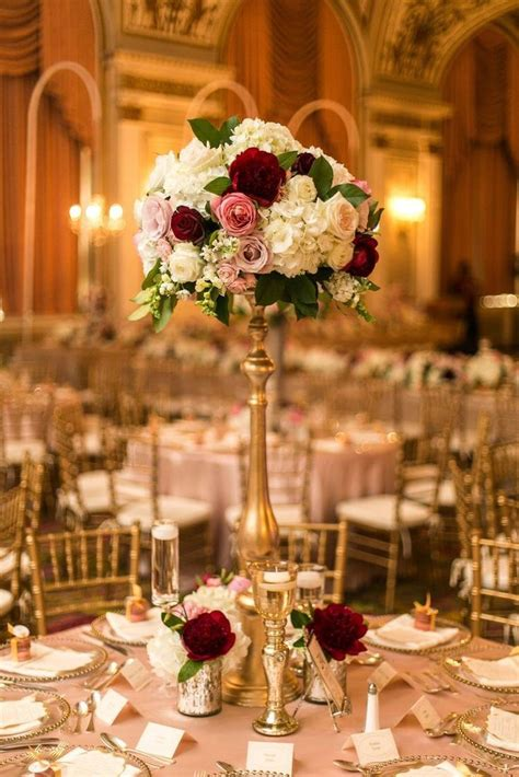 Beautiful Centerpiece Ideas 50th Anniversary Tall