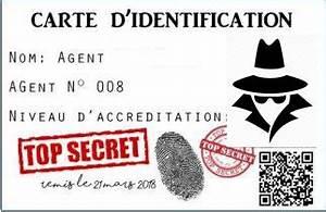 Code Secret Carte Auchan : votre mission si vous l 39 acceptez organiser un anniversaire agent secret nous et les minibouts ~ Medecine-chirurgie-esthetiques.com Avis de Voitures