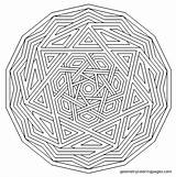 Coloring Complex Mandala Anxiety Level Templates Autism Geometry Therapy Template Stencil Imgur sketch template