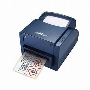 Brady minimark label printer with markware software for Brady label templates