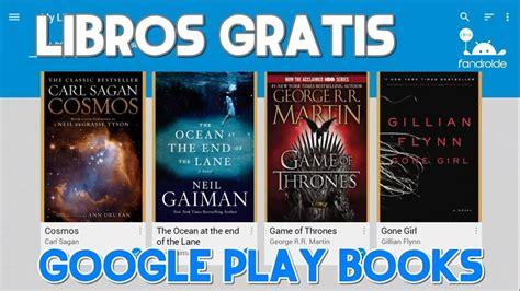 google play books descargar para pc