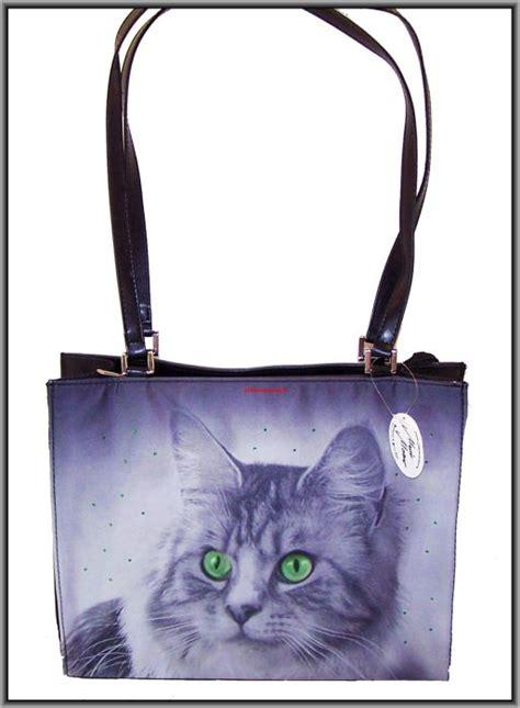 katzen tasche gross handtasche katze design mario moreno