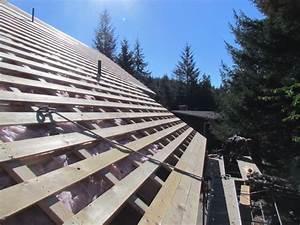 House Lift/Metal Roof Straight Grain Inc
