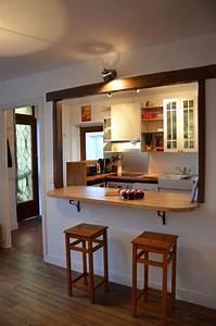Cuisine Ouverte Salon : ouvrir cuisine sur salon inspirant rpc cuisine americaine ~ Voncanada.com Idées de Décoration