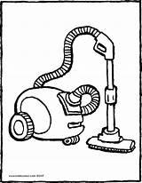 Vacuum Cleaner Aspirateur Coloriage Staubsauger Stofzuiger Colouring Kiddicolour Dessin Hoover Coloring Drawing Kiddicoloriage Kleurplaat Ausmalbilder Kiddimalseite Tekening Aspirador Colorier Strom sketch template