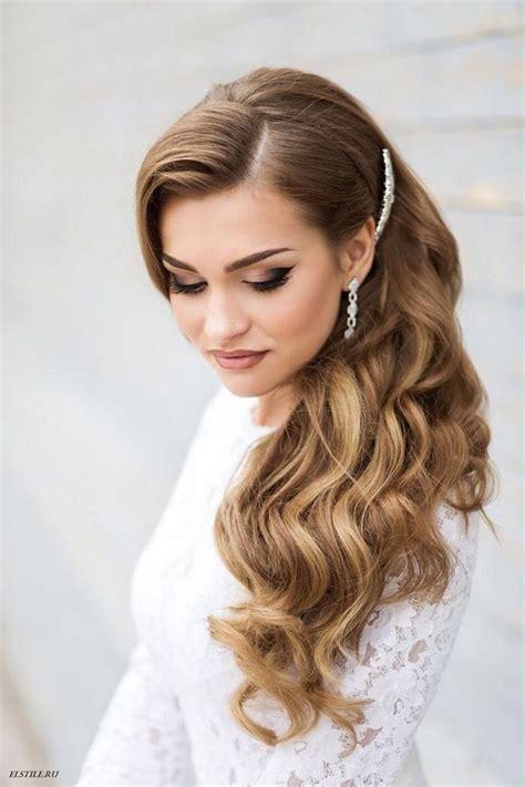 28 Striking Long Wedding Hairstyle Ideas   Deer Pearl Flowers