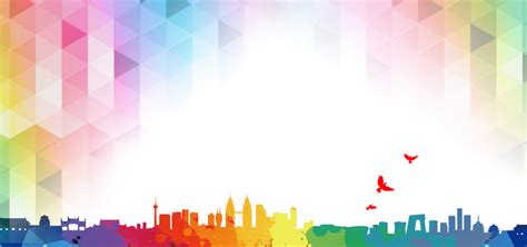 background color cool city flat background color color cool city
