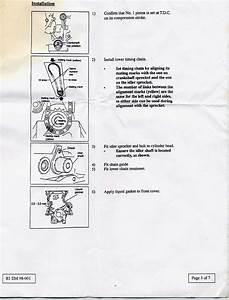 Puesta A Punto De Un Motor Nissan V16