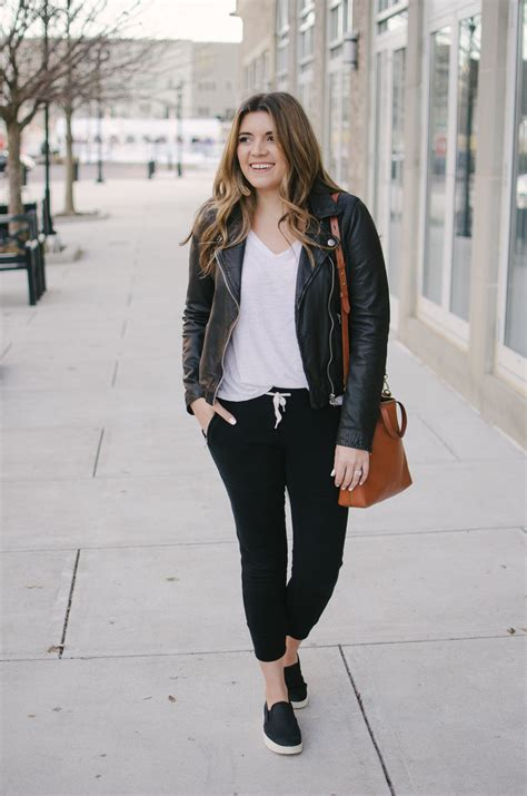 Casual Jogger Pants Outfits My Tips of How to Wear u0026#39;Em Out | By Lauren M