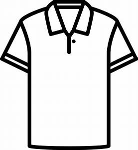 How To Draw A Polo Shirt - ClipArt Best