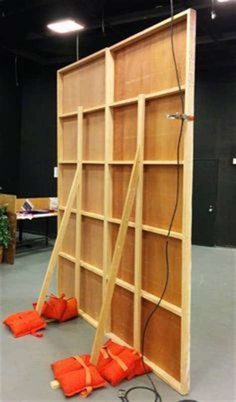 how to build a freestanding wall 1 how to build free standing set walls costumes makeup theatrical props pinterest