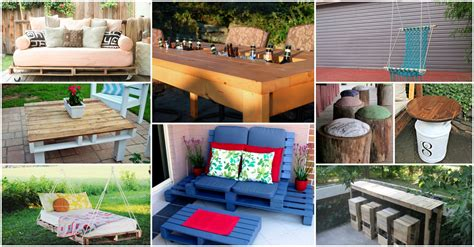 budget friendly diy backyard furniture ideas