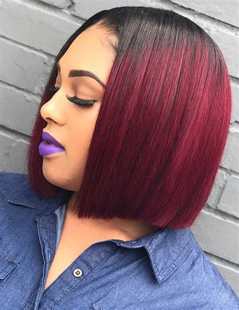 Two Tone Sew In Hairstyles by Two Toned Bob Sew In Hair Color Ideas And Styles For 2018