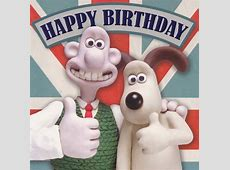 Wallace And Gromit Happy Birthday Card Square CardSpark
