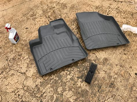 weathertech floor mats cleaning weathertech mat cleaning tips honda ridgeline owners club forums