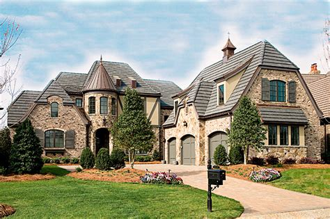 French Country Manor  17691lv  1st Floor Master Suite