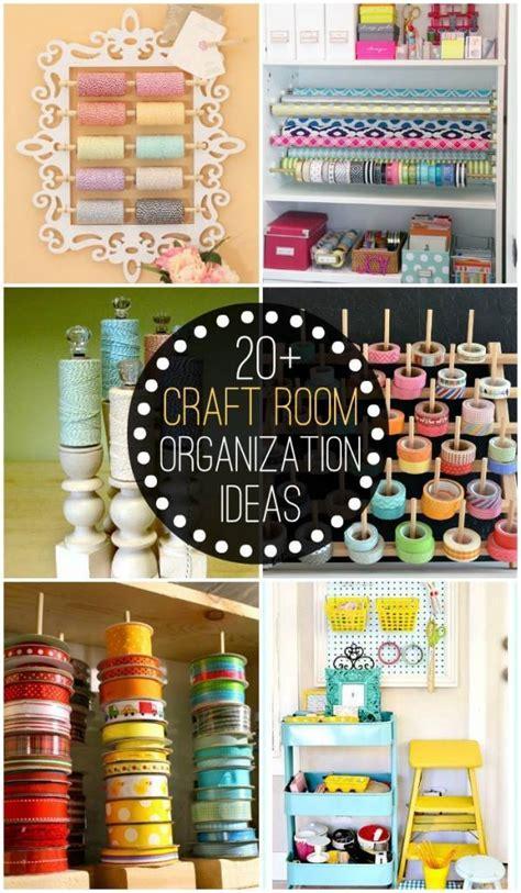 craft room organization ideas scrap booking