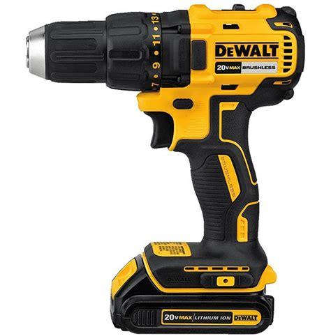 dewalt dcd  max brushless drill  budget