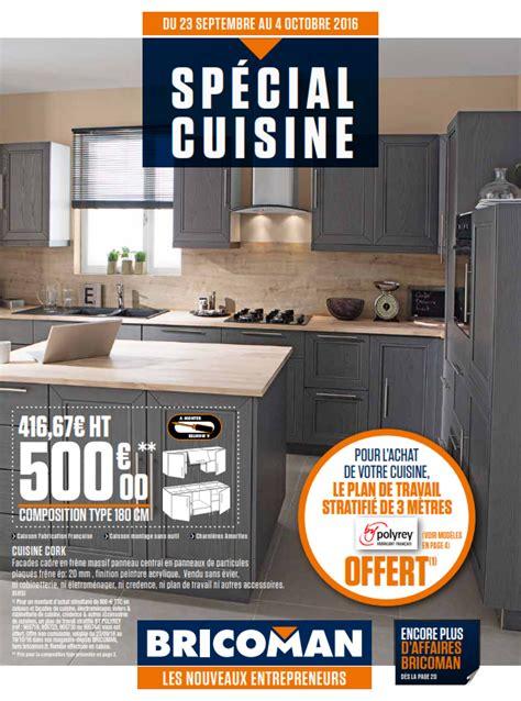 cuisine bricoman avis bricoman spécial cuisine cataloguespromo com